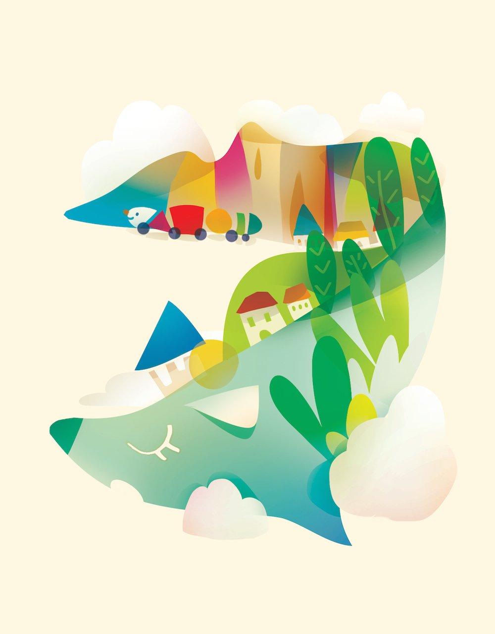 Whale – illustration